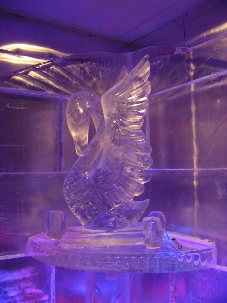 Rzeźby lodowe